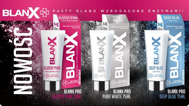 Pasta do zębów Blanx PRO Glossy Pink